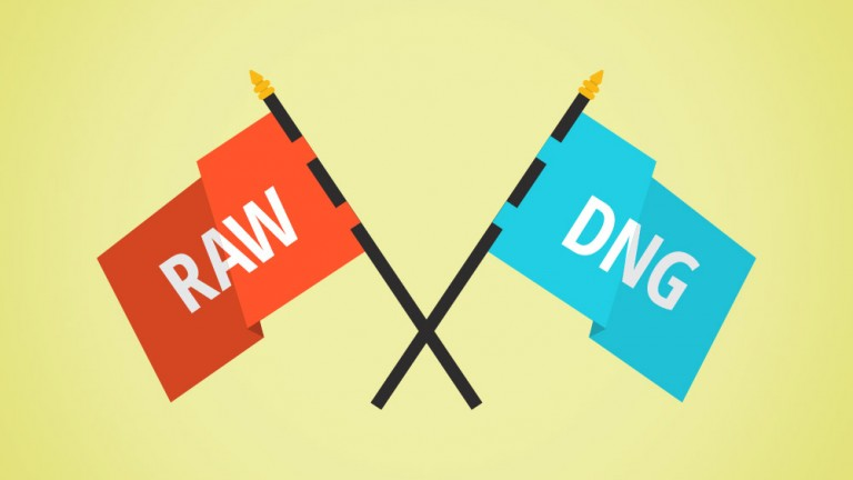 convert raw to dng