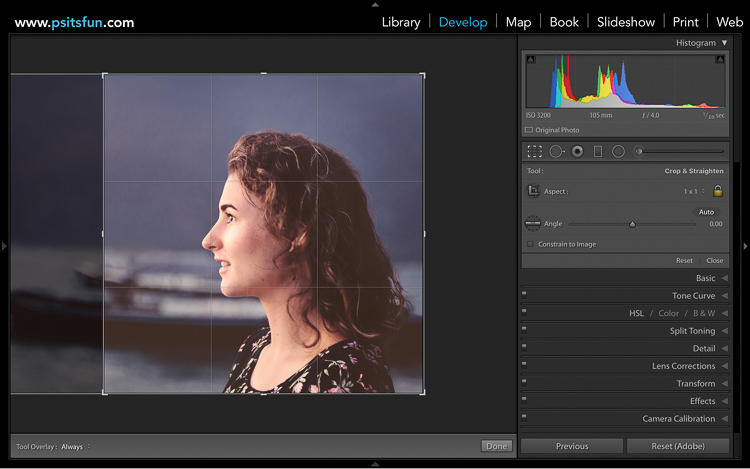 optimize images for facebook in lightroom