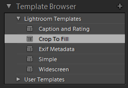 crop video in lightroom