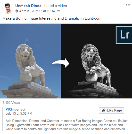 Lightroom related Facebook groups