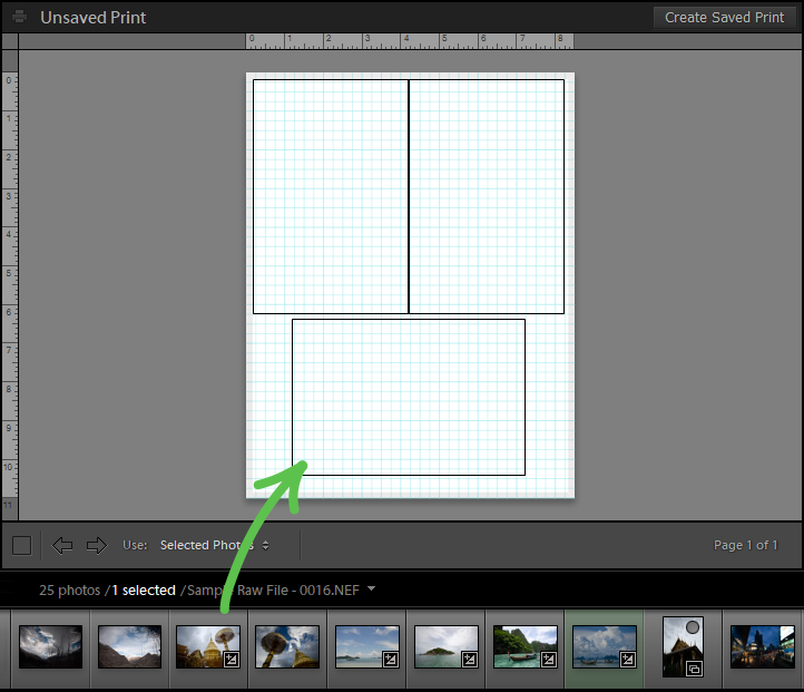 adding image to layout to make photo collage